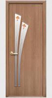 Дверное полотно Новый Стиль Модерн ЛИЛИЯ ольха 3D +Р1 (60,70,80,90) Экошпон