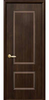 Дверное полотно Новый Стиль Плюс ПОРТА каштан (60,70,80,90)  ПВХ De Luxe