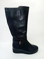 Женские кожаные зимние сапоги ТМ Ross, фото 1