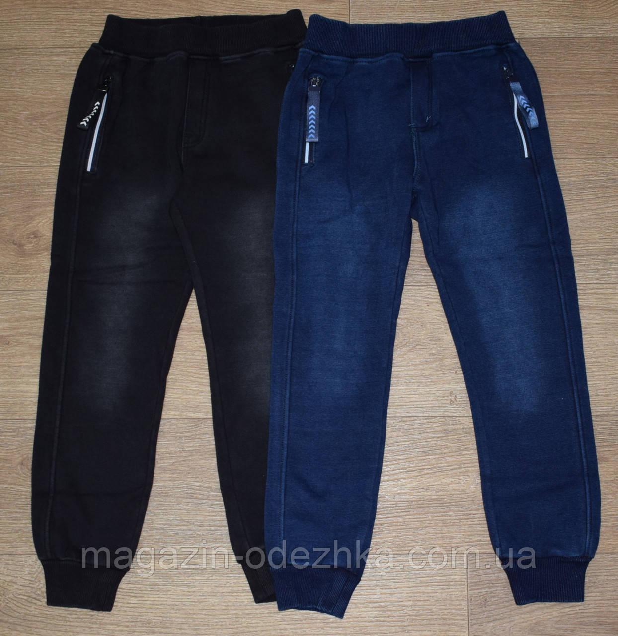 """Спортивные утепленные штаны на меху для  мальчика на 4-6-8-10-12  лет, """"F&D"""" Венгрия"""