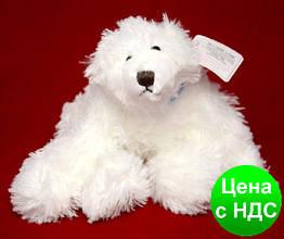 """Игрушка """"Мишка белый"""" (плюшевый) 27 см."""