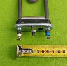 Тэн на стиральную машину 2000W / L=203мм / 1 предохранитель / с бортиком (с отверстием под датчик)  Thermowatt, фото 2