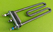 Тэн на стиральную машину 2000W / L=203мм / 1 предохранитель / с бортиком (с отверстием под датчик)  Thermowatt, фото 3
