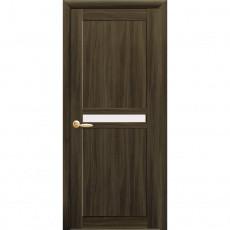 Дверное полотно Новый Стиль Неона 60,70,80,90см кедр со стеклом