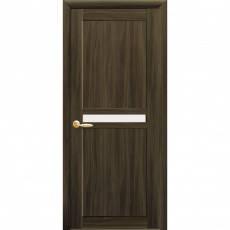 Дверное полотно Новый Стиль Неона 60,70,80,90см кедр со стеклом, фото 2