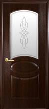 Дверное полотно Новый Стиль Фортис Овал  с рисунком Р1