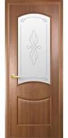 Дверное полотно Новый Стиль Интера ДОННА золотая ольха+Р1 (40) Deluxe ПВХ De Luxe