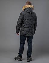 Tiger Force 71368 | Куртка мужская на зиму темно-серая, фото 3