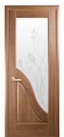 Дверное полотно Новый Стиль Маэстра АМАТА 60,70,80,90 ПВХ золотая ольха+Р2