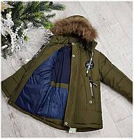 Зимняя куртка на 100% холлофайбере, размер , 7-117