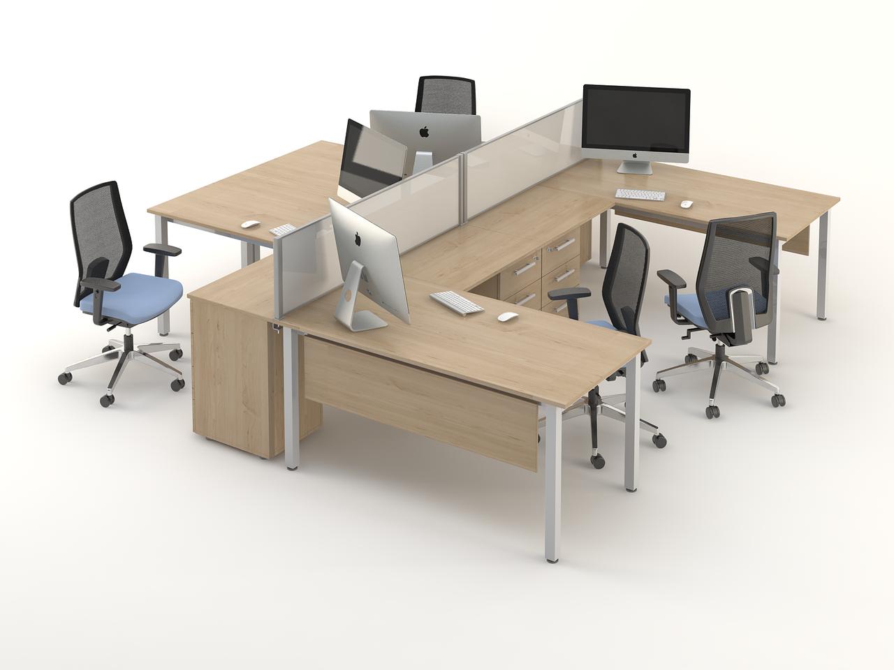 Комплект мебели для персонала серии Озон композиция №6 ТМ MConcept
