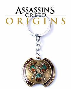 Кулон Кредо Ассасина Assassin's Creed Origins Истоки Щит междая Байека брелок