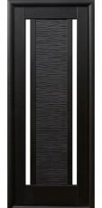 Дверное полотно Новый Стиль Ностра ЛУИЗА венге new+стекло (60,70,80,90) ПВХ De Luxe