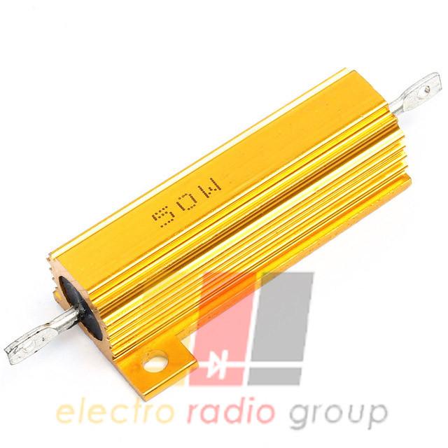 Резистор с алюминиевым радиатором 50W 4.7kOм