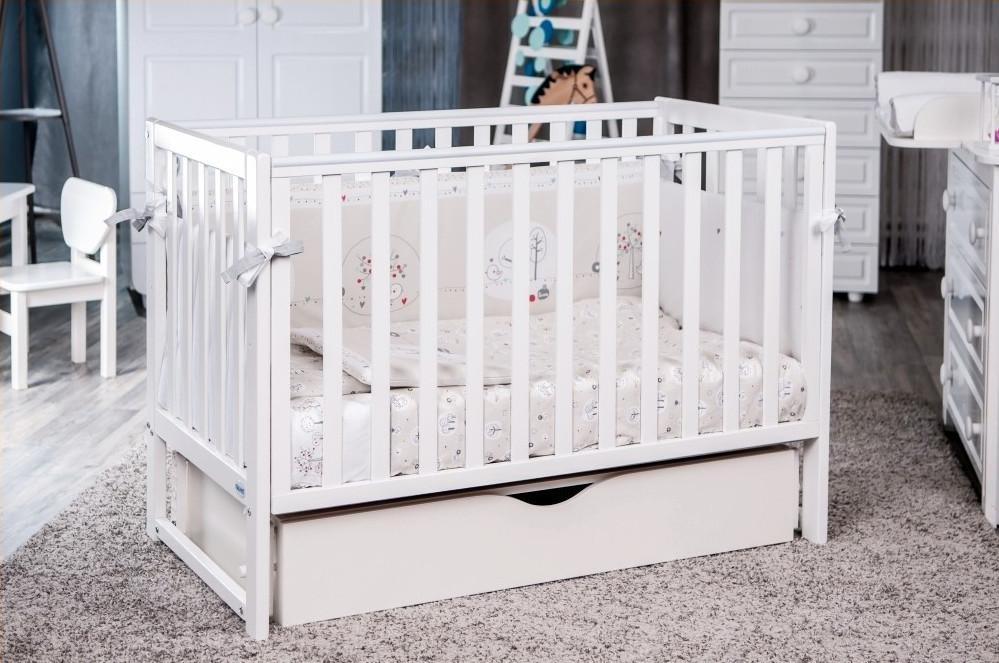 Детская кроватка Twins Pinocchio маятник / ящик