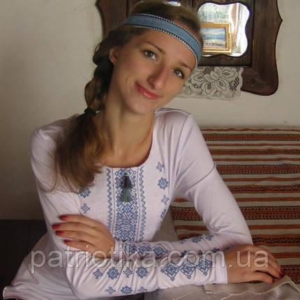 Женская вышиванка на осень   Жіноча вишиванка на осінь, фото 2