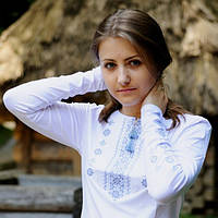 Женская вышиванка на осень | Жіноча вишиванка на осінь, фото 1