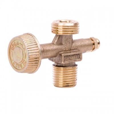Вентиль для газовых баллонов и горелок