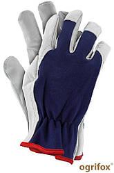 Перчатки рабочие кожаные REIS Ogrifox OX-INPAK GW