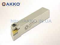 Резец токарный проходной CKJNR 2525 M16 под пластину KNUX 1604.. державка AKKO