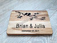 Нанесение изображения на деревянную кухонную доску