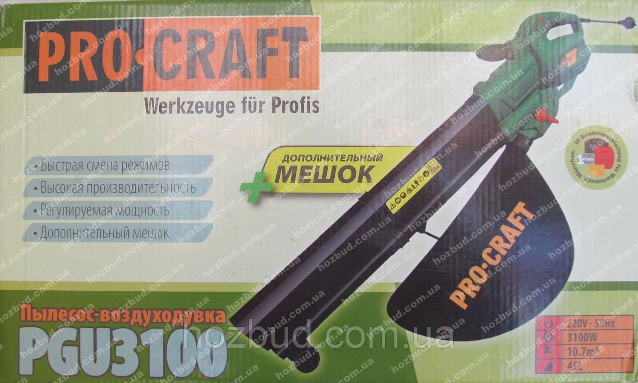 Пилосос-повітродувка Procraft PGU3100