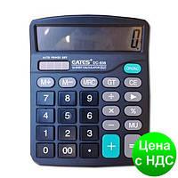 """Калькулятор """"EATES"""" DC-838 (12 разрядный, 2 питания)"""