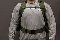 Тактический Штурмовой Военный Рюкзак с подсумками на 50-60 литров Олива (1004 олива), фото 3
