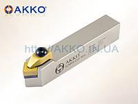 Резец токарный проходной TCMNN 2020 K12 под пластину CNMG 1204.. державка AKKO