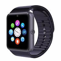 Умные часы GT08 Black с Bluetooth, камерой, сим-картой и сенсорным экраном. Смарт часы (smart watch) Uwatch