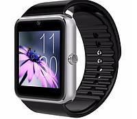 Умные часы GT08 Silver с Bluetooth, камерой, сим-картой и сенсорным экраном. Смарт часы (smart watch) Uwatch