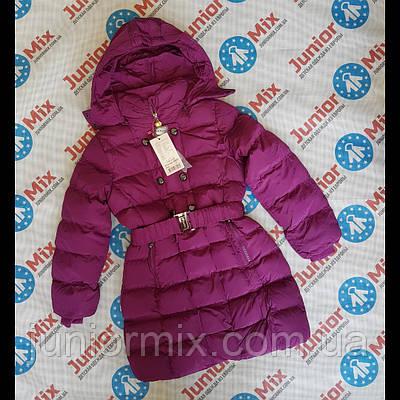 7def48e77fe8 Куртка зимняя на девочку подростоковая на кнопках и поясе SEAGULL.