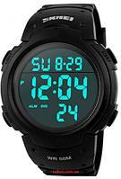 Мужские наручные часы Skmei 1068 Sport Style . Электронные спортивные часы с подсветкой