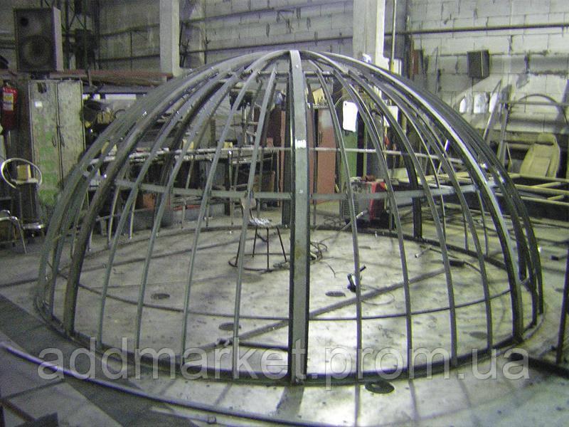 Виготовлення металоконструкцій під замовлення
