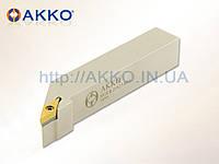 Резец токарный проходной SVJCR 2020 K16 под пластину VCMT 1604.. державка AKKO
