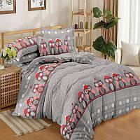 Зимние совушки, постельное белье из поплина (100% хлопок)
