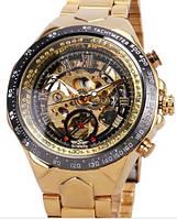 Мужские механические часы Winner Bussines. Наручные часы скелетон с автоподзаводом