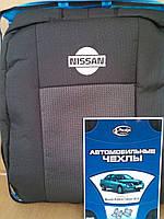 Чехлы Модельные  Nissan Almera Classic (B10) (сзади подголовники )