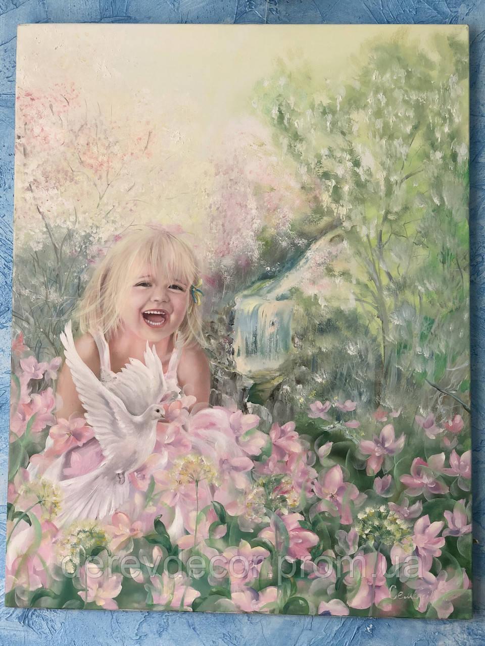 Картина «Девочка»