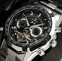 Механические мужские часы Forsining Texas. Стильные классические часы с автоподзаводом