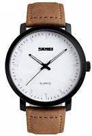 Мужские наручные часы Skmei 1196 Wild. Классические кварцевые часы на ремешке