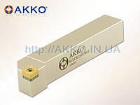 Резец токарный проходной SCLCR 1616 H09 под пластину CCMT 09T3.. державка AKKO
