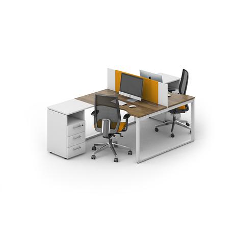 Комплект мебели для персонала серии Джет композиция №6 ТМ MConcept, фото 2