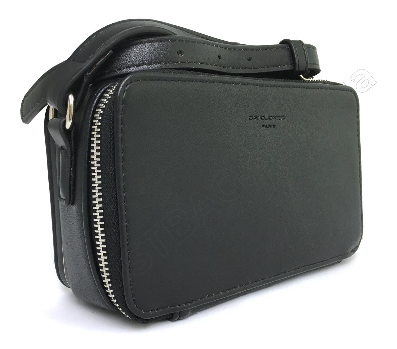 Жіноча сумка D. Jones CM5805-3 black