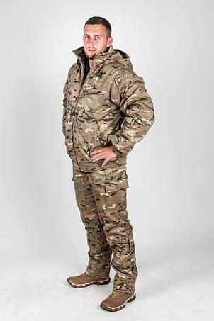 Костюм камуфляжный зимний для охоты и рыбалки Мультикам НАТО, фото 2