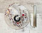 Прозрачный светящийся шар с декором , фото 3