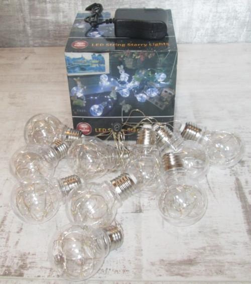 Гирлянда из 9 декоративных лампочек
