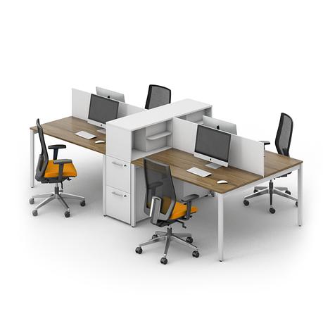 Комплект мебели для персонала серии Джет композиция №13 ТМ MConcept, фото 2