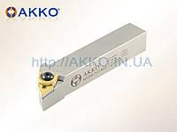 Резец токарный проходной MTJNR 2525 M16 под пластину TNMG 1604.. державка AKKO