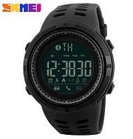 Умные наручные часы Skmei 1250 Clever. Мужские водонепроницаемые смарт часы с Bluetooth
